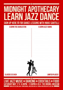 Dance Lesson sign up - courtesy Graphic Violence